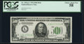 Small Size:Federal Reserve Notes, Fr. 2201-L $500 1934 Federal Reserve Note. PCGS Choice About New 58.. ...