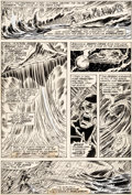 Original Comic Art:Panel Pages, Dave Cockrum Giant-Size X-Men #1 Story Page 35 Original Art (Marvel, 1975)....