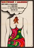 "Movie Posters:Foreign, The Bear and the Doll (CWF, 1972). Polish One Sheet (23"" X 32.5"") Hanna Bodnar Artwork. Foreign.. ..."