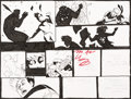 Original Comic Art:Panel Pages, Michael Avon Oeming Powers