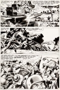 Original Comic Art:Panel Pages, Russ Heath Our Army at War