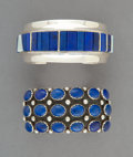 American Indian Art:Jewelry and Silverwork, Two Navajo Cuff Bracelets ... (Total: 2 Items)