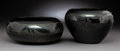 American Indian Art:Pottery, Two San Ildefonso Blackware Vessels . Marie and Julian Martinez andMaria Martinez... (Total: 2 Items)