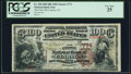 National Bank Notes:Pennsylvania, Clarion, PA - $100 1882 Brown Back Fr. 520 The First NB Ch. # 774 PCGS Very Fine 25.. ...