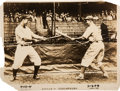 Baseball Collectibles:Photos, 1931 Tour of Japan Photographic Promotional Broadside, PSA/DNA Type3 from The Lou Gehrig Collection....