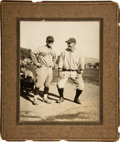 Baseball Collectibles:Photos, Circa 1927 Lou Gehrig Large Cabinet Photograph from The Lou GehrigCollection....