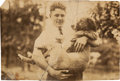 Baseball Collectibles:Photos, 1919 Lou Gehrig at Age Sixteen Original Photograph, PSA/DNA Type 1from The Lou Gehrig Collection....