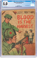 Golden Age (1938-1955):War, Blood Is the Harvest #nn (Catechetical Guild, 1950) CGC VG/FN 5.0Off-white pages....