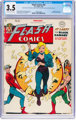 Flash Comics #92 (DC, 1948) CGC VG- 3.5 Off-white to white pages