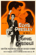 Movie Posters:Elvis Presley, King Creole (Paramount, 1958). Fine/Very Fine on Linen.