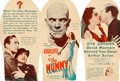"""Movie Posters:Horror, The Mummy (Universal, 1932). Herald (6"""" X 3"""" folded, 6"""" X 9"""" unfolded).. ..."""