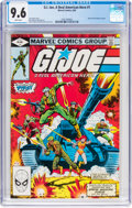 Modern Age (1980-Present):War, G. I. Joe, A Real American Hero #1 (Marvel, 1982) CGC NM+ 9.6 White pages....