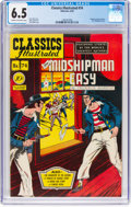 Golden Age (1938-1955):Classics Illustrated, Classics Illustrated #74 (Gilberton, 1950) CGC FN+ 6.5 Cream to off-white pages....