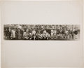 Baseball Collectibles:Photos, 1931 Tour of Japan Teams Panoramic Photograph, PSA/DNA Type 1 fromThe Lou Gehrig Collection....