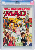 Magazines:Mad, MAD #35 (EC, 1957) CGC NM 9.4 Off-white to white pages....