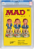 Magazines:Mad, MAD #36 (EC, 1957) CGC VF- 7.5 Off-white to white pages....