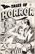 Original Comic Art:Covers, Myron Fass Tales of Horror #2 Cover Original Art (Toby, 1952)....