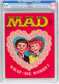Magazines:Mad, MAD #45 (EC, 1959) CGC NM 9.4 White pages....
