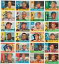 Autographs:Sports Cards, Signed 1960 Topps Baseball Partial Set (380/572). ...
