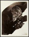 "Movie Posters:Horror, The Wolf Man (Universal, 1941). Photos (2) (8"" x 10"", 8"" X10.25"").. ... (Total: 2 Items)"