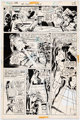 Don Heck Superman's Girl Friend, Lois Lane #125 Story Page 6 Original Art (DC, 1972)