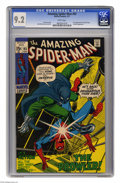 Bronze Age (1970-1979):Superhero, The Amazing Spider-Man #93 (Marvel, 1971) CGC NM- 9.2 White pages. Prowler appearance. First appearance of Arthur Stacy. Art...