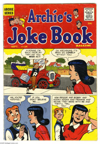 Archie Silver Age Group (Archie, 1956). This group includes Archie's Joke Book Magazine #24 (VG) and Pep Comics #116 (in...