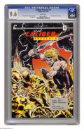 Modern Age (1980-Present):Superhero, Caliber Presents #1 (Caliber Press, 1989) CGC NM+ 9.6 White pages.First appearance of the Crow. Tim Vigil cover. Vigil and ...