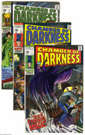 Bronze Age (1970-1979):Horror, Chamber of Darkness #1-8 Group (Marvel, 1969-70) Condition: AverageVG+. This group contains issues #1, 2, 3, 4, 5, 6, 7, an... (8Comic Books)
