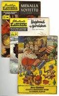 Golden Age (1938-1955):Classics Illustrated, Classics Illustrated Plus Box Lot (Gilberton, 1940s-60s) Condition:Average VG/FN. The highlight of this almost full short b...