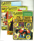 Golden Age (1938-1955):Classics Illustrated, Classics Illustrated Group (Gilberton, 1949-54) Condition: AverageGD-. The comics in this group are all later printings fro... (14Comic Books)
