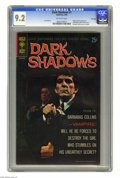 Silver Age (1956-1969):Horror, Dark Shadows #1 File Copy (Gold Key, 1969) CGC NM- 9.2 Off-whitepages. Photo front and back covers featuring Barnabas Colli...