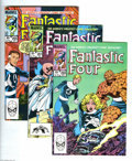 Modern Age (1980-Present):Superhero, Fantastic Four Box Lot (Marvel, 1970-80s) Condition: Average VF+.This fully packed long box contains issues of Fantastic ...