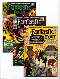 Fantastic Four Box Lot (Marvel, 1960s) Condition: Average VG. This half-full short box contains a nice selection of Fant...