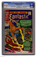 Silver Age (1956-1969):Superhero, Fantastic Four Annual #4 (Marvel, 1966) CGC VF/NM 9.0 Off-white to white pages. First Silver Age appearance of the Golden Ag...
