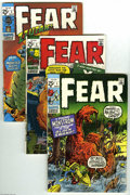 Bronze Age (1970-1979):Horror, Fear #1-25 Group (Marvel, 1970-74) Condition: Average VG. Thisgroup contains issues #1, 2, 3, 4, 5, 6, 7, 8, 9, 10, 11, 12,...(25 Comic Books)
