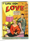 Golden Age (1938-1955):Romance, Fox Giants - Teen Age Love (Fox Features Syndicate, 1950) Condition: VG-. Contains four remaindered Fox romance comics. Incl...
