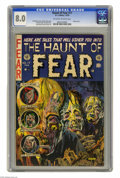 Golden Age (1938-1955):Horror, Haunt of Fear #17 (EC, 1953) CGC VF 8.0 Off-white to white pages.Classic cover by Graham Ingels with interior art by Ingels...