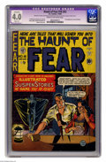 Golden Age (1938-1955):Horror, Haunt of Fear #16 (#2) (EC, 1950) CGC Apparent VG 4.0 Slight (A)Cream to off-white pages. First appearance of the old Witch...