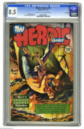 Golden Age (1938-1955):Non-Fiction, Heroic Comics #41 File Copy (Eastern Color, 1947) CGC VF+ 8.5 Lighttan to off-white pages. Graham Ingels cover. Alex Toth a...