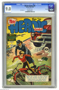 Golden Age (1938-1955):War, Heroic Comics #56 File Copy (Eastern Color, 1949) CGC VF/NM 9.0 Off-white pages. Sam Decker art. Overstreet 2005 VF/NM 9.0 v...