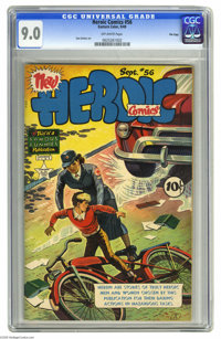 Heroic Comics #56 File Copy (Eastern Color, 1949) CGC VF/NM 9.0 Off-white pages. Sam Decker art. Overstreet 2005 VF/NM 9...