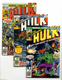 The Incredible Hulk Box Lot (Marvel, 1977-93) Condition: Average NM. Some Todd McFarlane issues are a highlight of this...