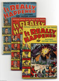 Golden Age (1938-1955):Non-Fiction, It Really Happened Group (Standard, 1944-68) Condition: AverageGD/VG. This lot consists of issues #1, 2, 3, 4, 5, 6, 7, 8, ... (12Comic Books)