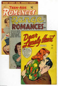 Golden Age (1938-1955):Romance, Miscellaneous Golden Age Romance Group (Various Publishers,1950-53). THis group includes Dear Lonely Heart #1 (VG+), ... (5Comic Books)