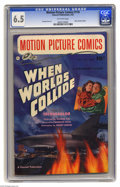 Golden Age (1938-1955):Science Fiction, Motion Picture Comics #110 (Fawcett, 1952) CGC FN+ 6.5 Off-whitepages. When Worlds Collide. George Evans and Al Williamson ...