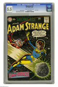 Golden Age (1938-1955):Science Fiction, Showcase #19 Adam Strange (DC, 1959) CGC FN- 5.5 Cream to off-whitepages. First Adam Strange logo. Gil Kane cover art. Mike...