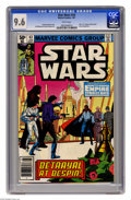 "Modern Age (1980-Present):Science Fiction, Star Wars #43 (Marvel, 1981) CGC NM+ 9.6 White pages. Part five of""Empire Strikes Back"" movie adaptation. Al Williamson and..."