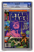 """Modern Age (1980-Present):Science Fiction, Star Wars #49 (Marvel, 1981) CGC NM+ 9.6 White pages. """"Death"""" ofJedidiah. Walt Simonson cover and art. Overstreet 2005 NM- ..."""