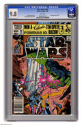 Modern Age (1980-Present):Science Fiction, Star Wars #55 (Marvel, 1982) CGC NM/MT 9.8 White pages. DavidMichelinie story. Walt Simonson cover and art. First appearanc...